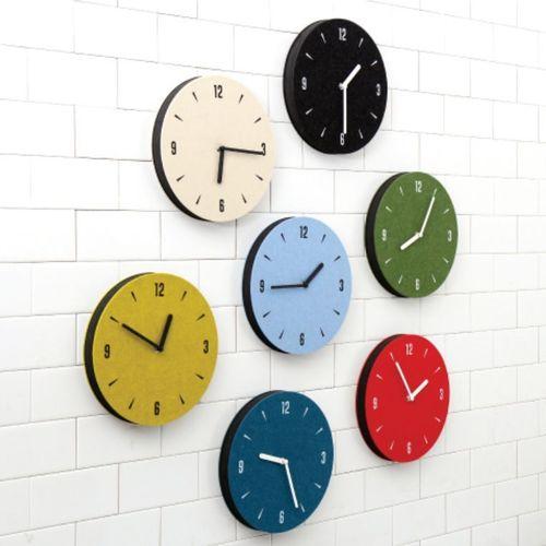 Felt Round Clock