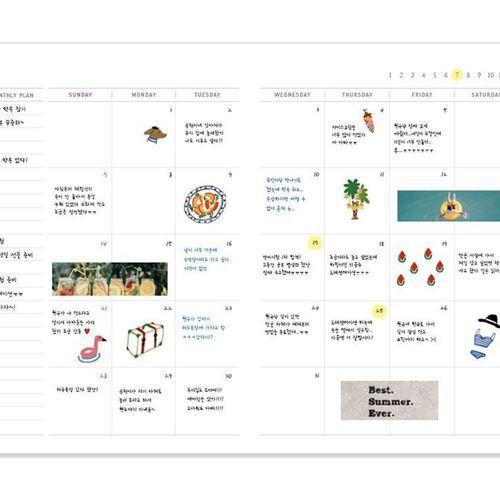 We Like Monthly Planner v1