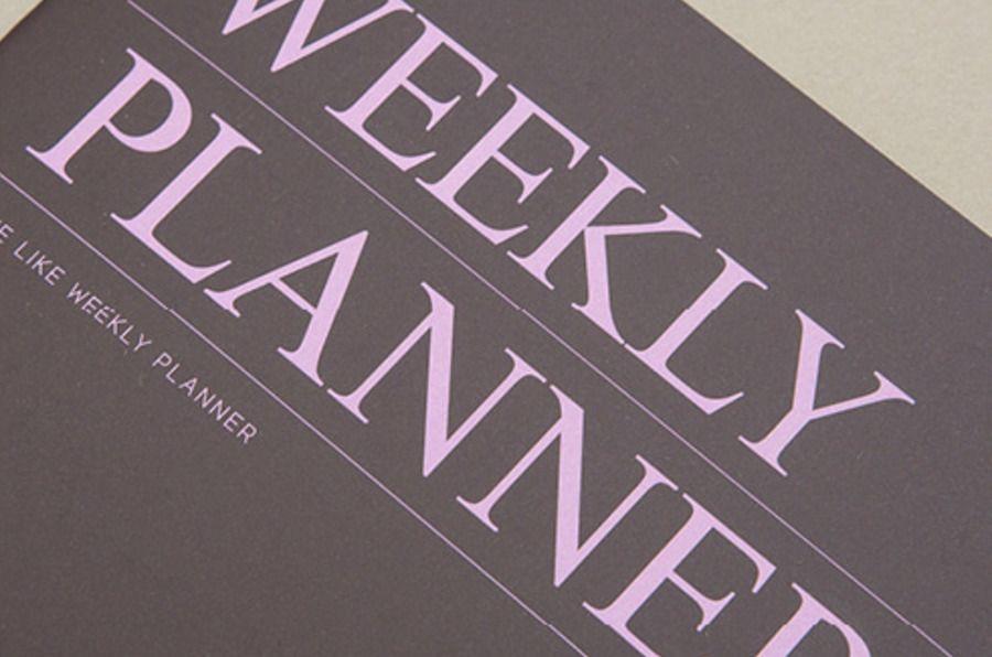 We Like Weekly Planner