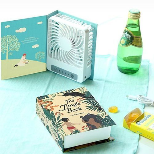 Literature Book Shaped Fan