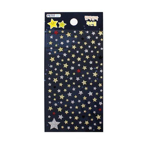 Mini Bling Star Deco Sticker