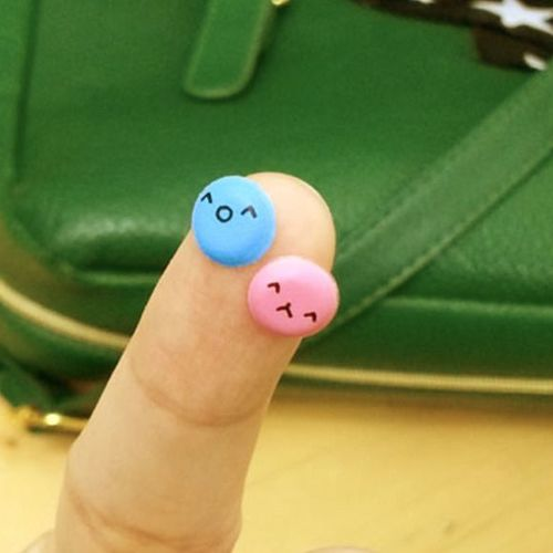 Mini Epoxy Emoji Sticker