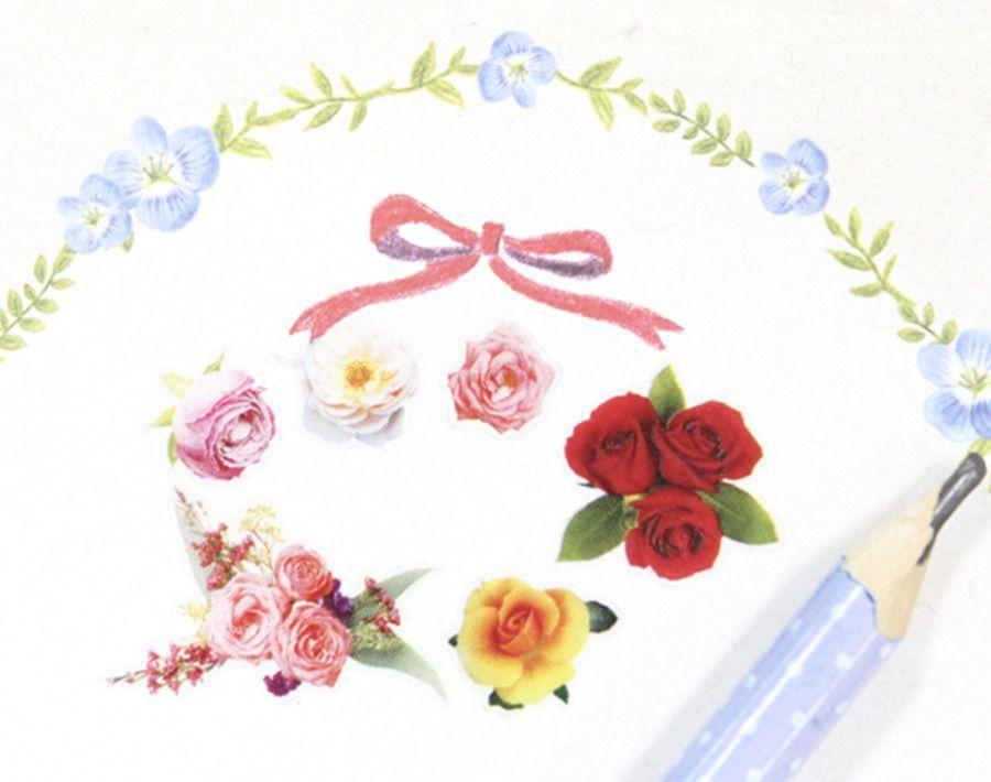 Rose Garden Deco Sticker