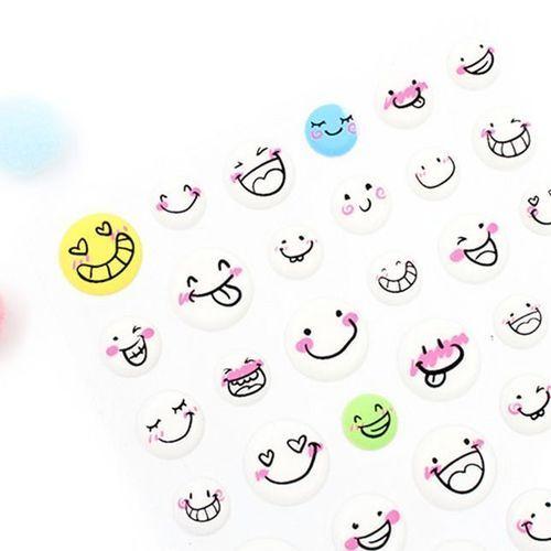 Happy Emoji Deco Sticker