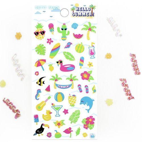Hello Summer Deco Sticker