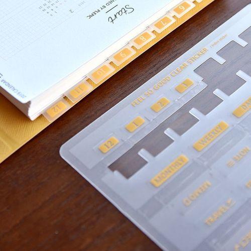 Feel So Good Transparent Sticker