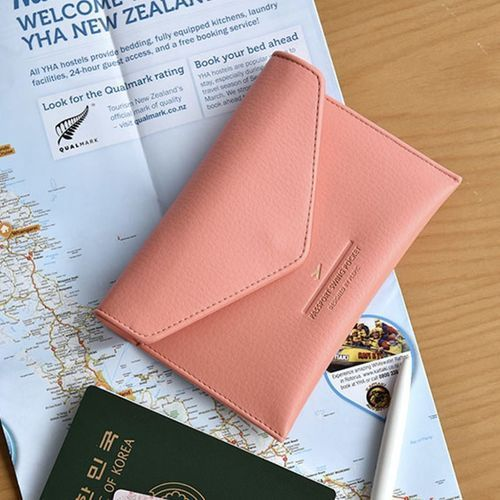 Leather Anti Skimming Passport Case