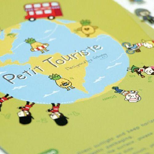 Petit Tourist Deco Sticker