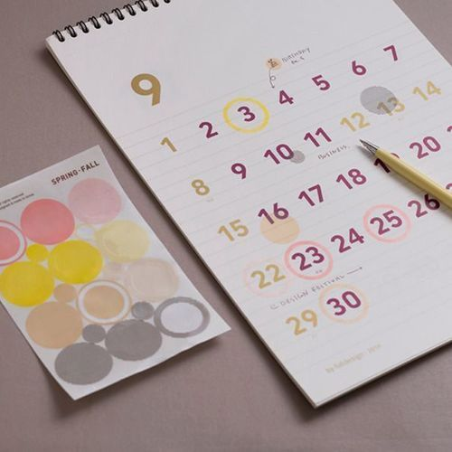 Large Modern Two-in-one Deco Sticker Set
