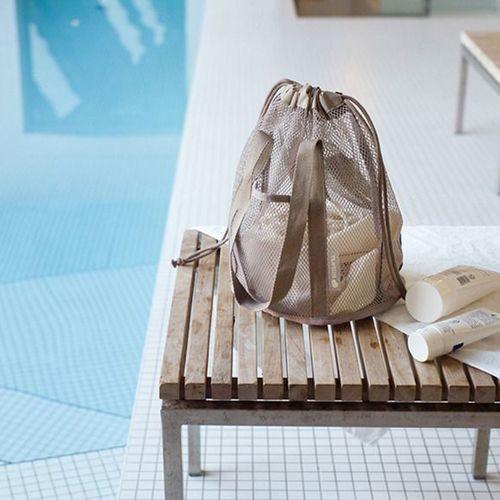 Travelus Mesh Bucket Bag