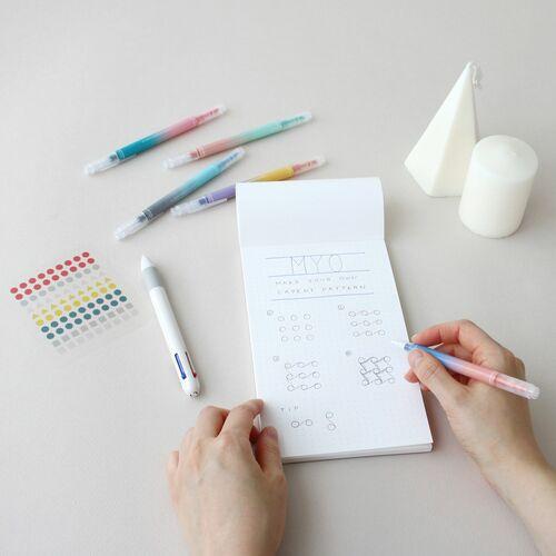 Life & Pieces 4 Color Gel Pen