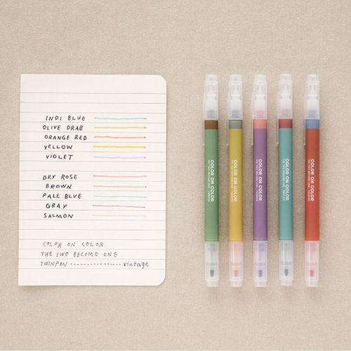 Twin Plus Color Pen Set v2