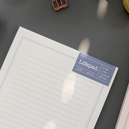Life A5 Notepad
