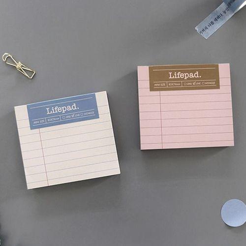 Life Mini Memo Pad