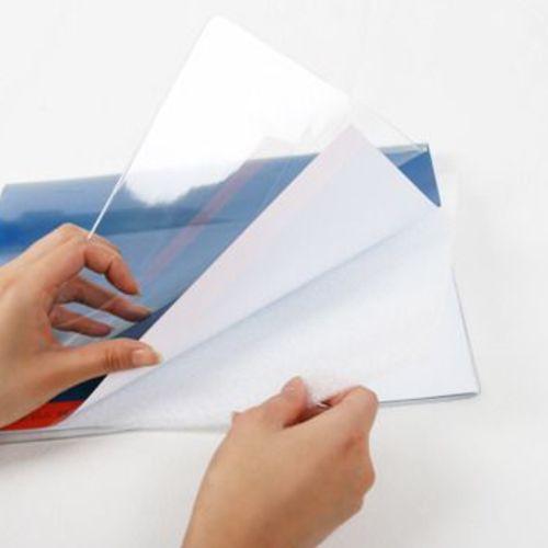Transparent Notebook Cover