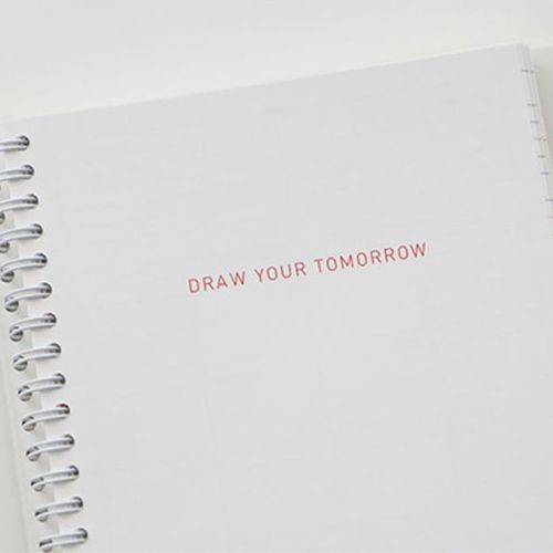 Small Dot Draw Your Tomorrow Scheduler