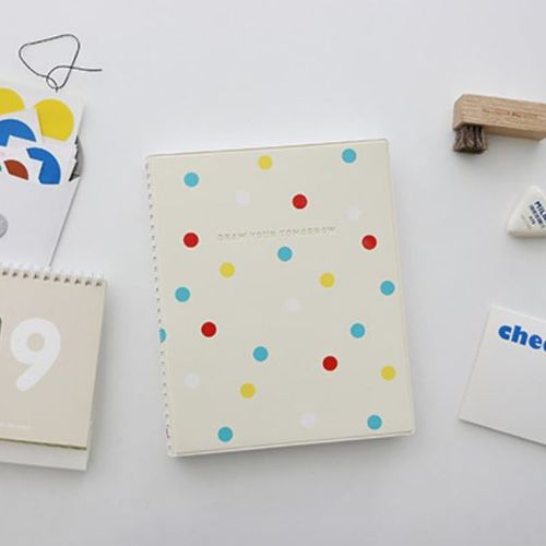 Large Dot Draw Your Tomorrow Scheduler