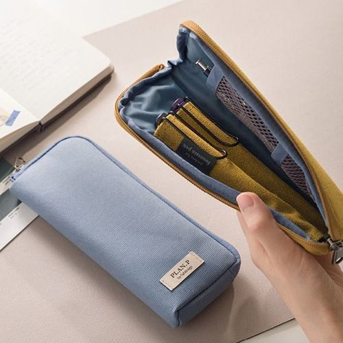 Plan P Zip Up Pen Pouch