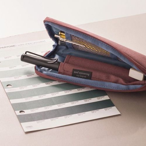 Plan P Zip Up Pen Pouch