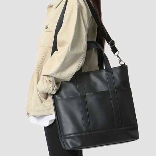 Bubilian Leather Tote Bag