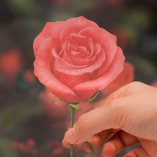 Small Rose Sticky Note