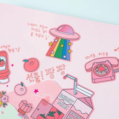 Color Point Deco Sticker