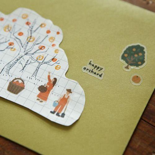 Dailylike Daily Deco Sticker v4