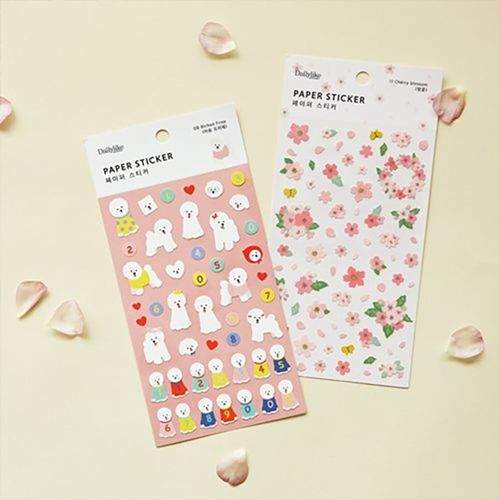 Dailylike Paper Deco Sticker v2