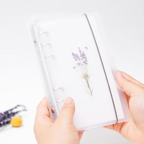 Lavender Pressed Flower Sticker