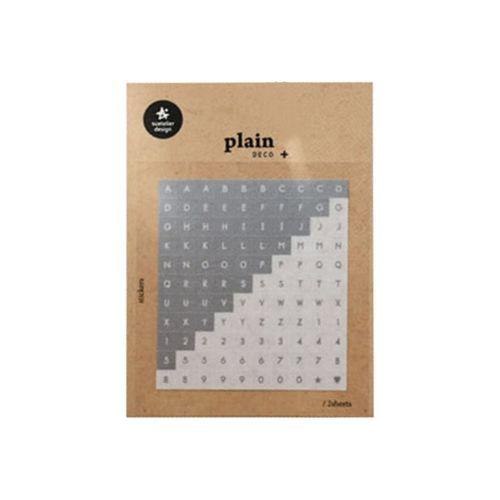 Plain Deco Sticker v30