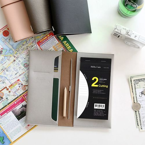 Dual Section Slim Notepad
