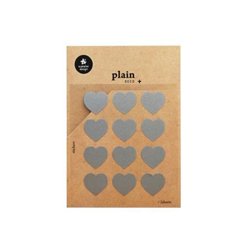 Plain Deco Sticker v40