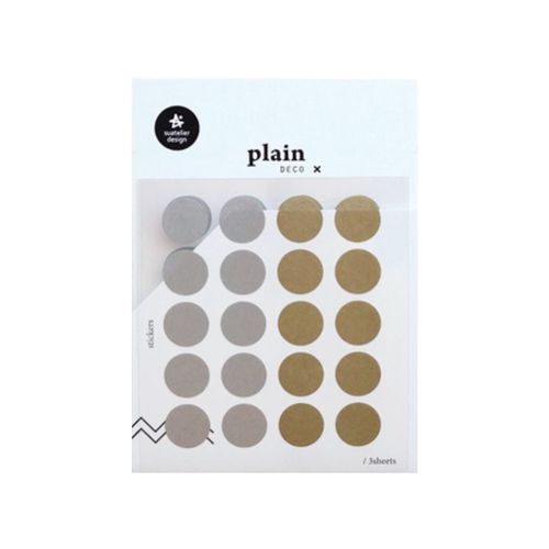Plain Deco Sticker v38