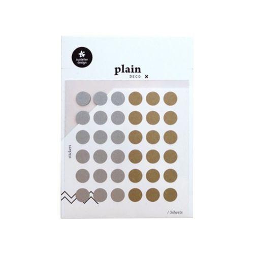 Plain Deco Sticker v37