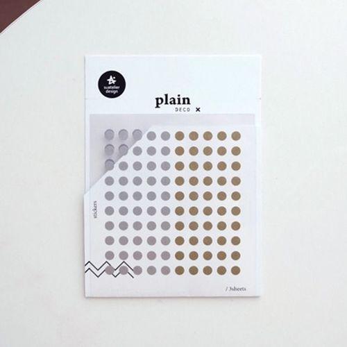 Plain Deco Sticker v36