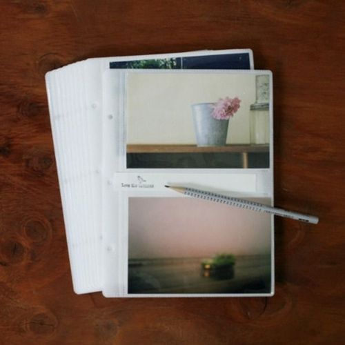 Gray 4x6 Photo Album