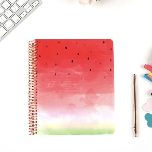 MYO Summer Spiral Notebook Cover