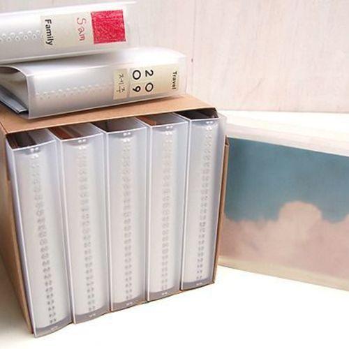 3x5 Transparent Photo Album Set