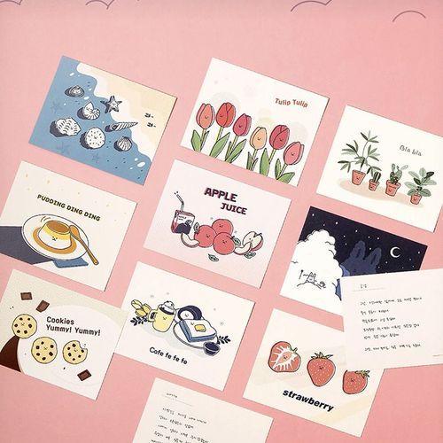 Cute Illustration Postcard