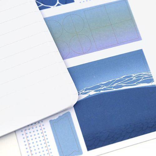 Illustration Slim Lined Notebook