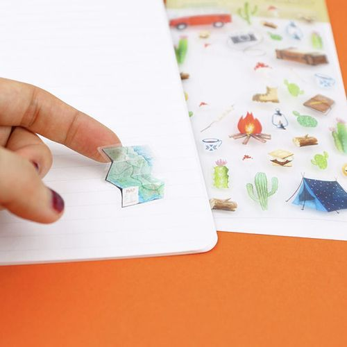 Travel Slim Lined Notebook