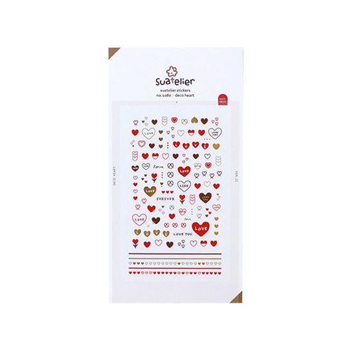 Heart Nail Deco Sticker