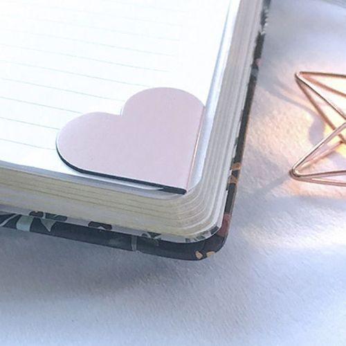 Heart Magnetic Corner Bookmark