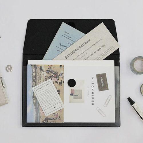 A5 Vintage Document Pocket