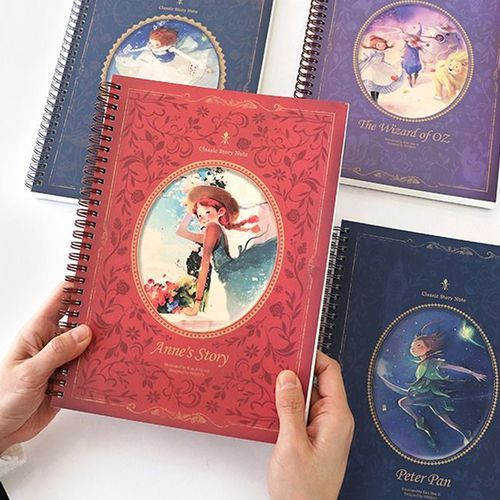 Classic Story Lined Notebook