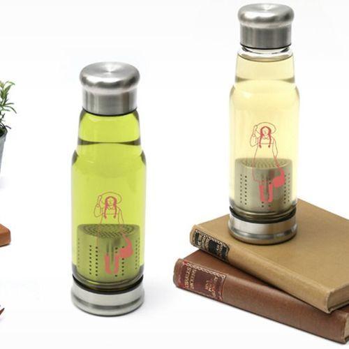 Anne Tea Bottle & Sleeve Set
