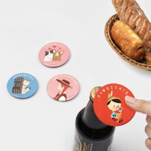 Literature Magnet Bottle Opener