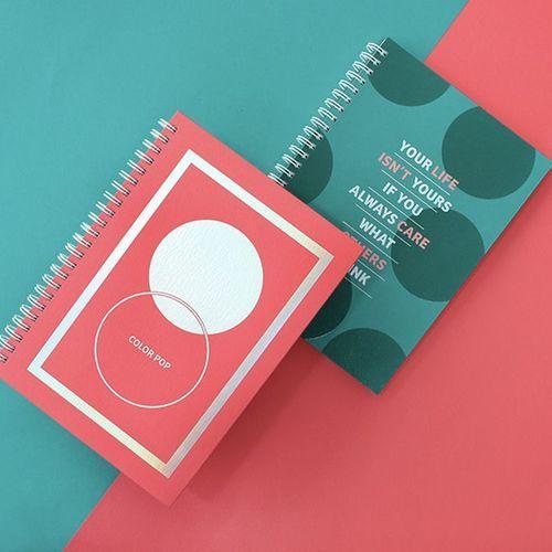 Color Pop Spiral Planner