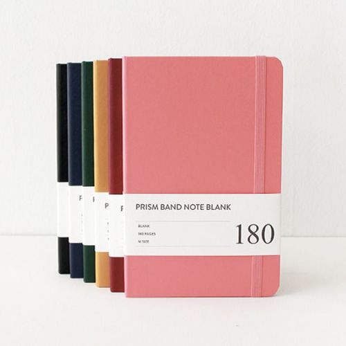 Medium Prism Band Notebook