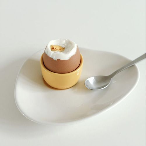 Fried Egg Plate & Cup Set